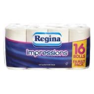 Regina Impressions Toilet Tissue 16 Rolls 3 Ply