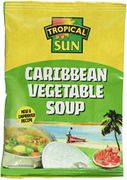 Tropical Sun Caribbean Vegetable Soup, 45 G, Pack of 12 (Add On)