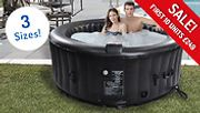 Inflatable Hot Tub by Airwave Aruba - Fits 4, 6 or 8 People from £249