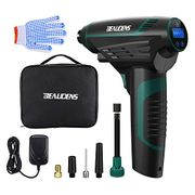 BEAUDENS Cordless Tyre Inflator, 12v/150PSI Air Compressor with 2200mAh Battery