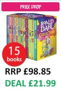 PRICE DROP! Roald Dahl Collection - 15 Books Collection
