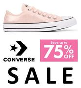 CONVERSE - up to 75% OFF