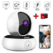 1080P WiFi Camera with 32GB Memory Card, 30%code+20%voucher