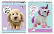 Make Your Own Plush Soft Toy Puppy / Unicorn Children Sewing Stuffing Craft Kit