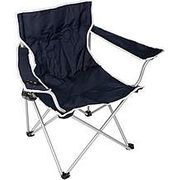 Halfords Camping Arm Chair in Navy or Green