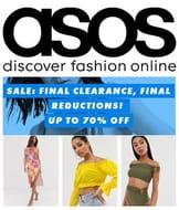 FINAL CLEARANCE at ASOS - Dresses, Tops, Swimwear & More