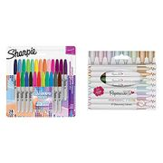 Sharpie Electro Pop Limited Edition Markers X 24 + 8 Bullet Tip Pens