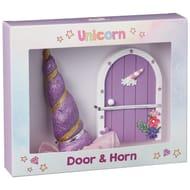 Unicorn Horn & Door Set - Purple
