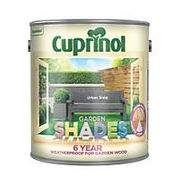 Cuprinol Garden Shades Woodstain 2.5L at Screwfix