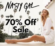 Nasty Gal up to 70% off Sale + 50% Off Everything Else