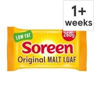 Big Packs) Soreen Fruity Malt Loaf 260G & Other Flavours 60p