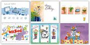 Greetingles 24 Assorted Male & Female Design Birthday Cards