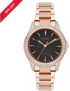 Citizen Eco Drive Womens Rose Gold Watch