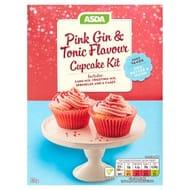 ASDA Pink Gin & Tonic Flavour Cupcake Kit