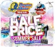 Half Price Drayton Manor & Thomas Land Ticket Sale