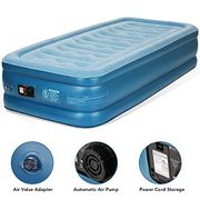 20% off Single Air Bed Inflatable Mattress Blow up Airbed with Built-in Pump