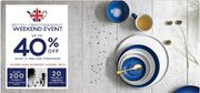 Extra 10% off £75 Spend at Denby
