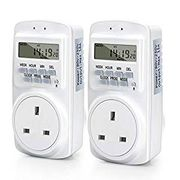 Plug Socket Timers 16 Groups 24 Hours 7 Day