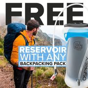 Free Reservoir When You Buy Any Backpacking Pack from Osprey