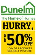 DUNELM - up to 50% OFF