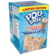 Kelloggs Frosted Vanilla Latte Pop Tarts 8pk BBE 14/4/18