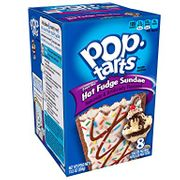 Kelloggs Frosted Hot Fudge Sundae Pop Tarts 8pk BBE 5/9/19
