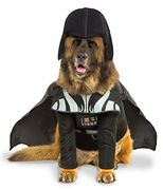 "Star Wars Darth Vader Pet Dog Costume XXX-Large Neck - Tail 38"", Chest 35"""