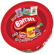 MEGA DEAL Barratt Sweets and Chews Assortment Tub 750g