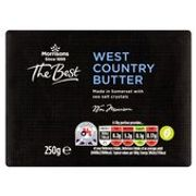 Morrisons the Best West Country Butter 250g £1