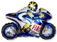 """Moto Racing Motorbike Balloon 26"""" Foil Balloon"""