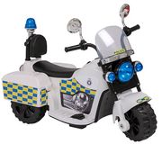 6V Battery Powered Police Trike Only £35