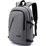 Anti-Theft Laptop Backpack with USB Charging Port and Earphone Port with Lock