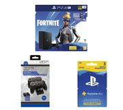 PS4 Pro with Fortnite Neo Versa, Twin Docking Station & PlayStation plus Bundle
