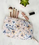 Floral Print Make up Bag
