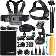 Accessories for GoPro, Lusreal Action Camera Accessories Kit for Go Pro Hero 7