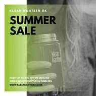 Get 40% off at KLEAN KANTEEN www.kleankanteen.co.uk