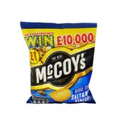 2 for £1 = McCoys Ridge Cut Salt & Malt Vinegar Crisps 70g