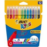 BIC Kids Kid Couleur Felt Tip Colouring Pens