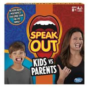 SPEAK OUT- Kids vs Parents Game (Hasbro)