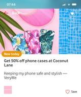 50% off Phone Cases Online VERYME Rewards