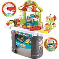 deAO Supermarket Sweet Shop Play Set
