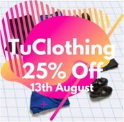 TU Clothing 25% off EVERYTHING Inc School Uniform