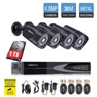 4 X CCTV System