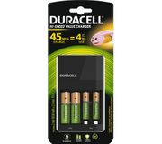 DURACELL Value Hi-Speed 4-Battery Charger with AA & AAA Batteries