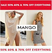 50% - 70% off Everything in the Mango Sale - Don't Miss It!