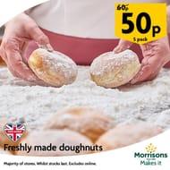 Morrisons Doughnuts 5pk Various Flavours