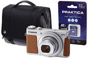 Canon PowerShot G9X MK II Camera Kit with 32 GB SD Card and Case