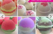 12 Pack of Mixed Handmade Large Bath Bombs
