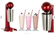 100W Retro Milkshake Maker + 500ml Stainless Steel Mixing Cup