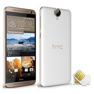 Dual Sim Unlocked HTC One E9 plus 4G LTE Smartphone with NFC(Renowed)